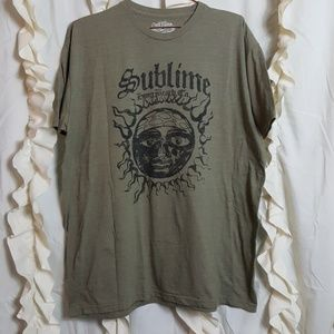 Other - Sublime Sun heathered green graphic tee